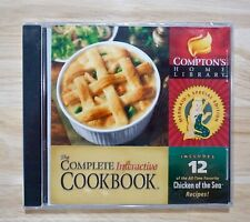 Compton's Home Library The Complete Interactive Cookbook CD-ROM, New Sealed!