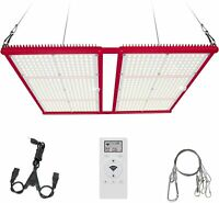 LED Grow Light 4ft, Bozily ProV2 4x4ft Dimmable Full Spectrum Light, Red