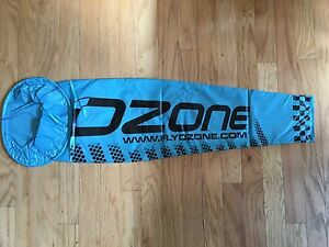 Extra Large Blue Ozone Wind Sock for Paramotoring and Paragliding