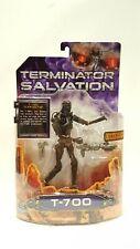 "Playmates T-700 TERMINATOR SALVATION 6"" action figure MOC Light pipe Eyes 2008"