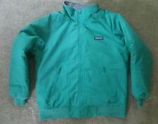 Lands End Youth Lined Parka Ski/Snow Jacket Large 14-16 Teal Green Boy Girl Coat