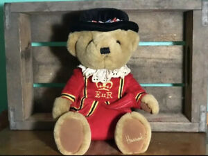 Harrods Knightsbridge EUR Vintage Teddy Bear Plush Stuffed Collectible