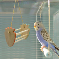 2Pcs Parrots Swing Toy Parakeet Cage Hanging Hammock for Birds Hamster