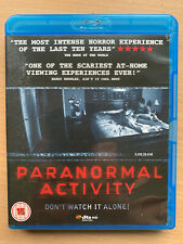 Paranormal Activity 2007 Blu-ray Haunted House Poltergeist Supernatural Horror
