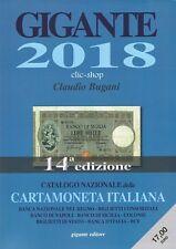 UN CATALOGO GIGANTE CARTAMONETA - BANCONOTE ITALIANA 2018 nuovo
