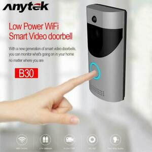 Wireless Smart WIFI IR Video Home Doorbell Remote Phone Visual Intercom w/ Rece