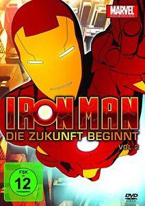 Iron Man: Die Zukunft beginnt - Vol.2 (Marvel Animation) DVD / NEU