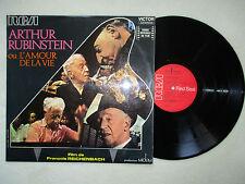 """LP 33T ARTHUR RUBINSTEIN """"L'Amour de la vie"""" RCA VICTOR LS 10319 M FRANCE §"""