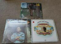 Vintage LP Record Lot 33s 3 Total Jerry Lee Lewis