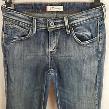 Levis 572 Womens Bootcut Jeans Blue W28 Cotton Denim Factory Fade Zipper Fly