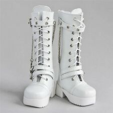 [wamami]45# White 1/3 SD DZ DOD AOD LUTS BJD Dollfie Leather Boots/Shoes