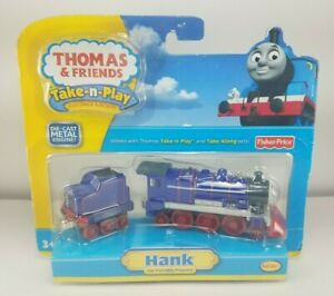 NEW 2009 Thomas & Friends Take-n-Play HANK Die-Cast Metal Train Engine