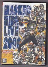 Kamen Masked Rider Live 2000 DVD Import Tokusatsu