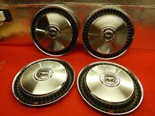 """4 NOS 75-91 Ford F100 F150 F250 F350 E150 E250 E350 15"""" Wheelcover #D6UZ-1130-A"""