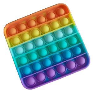 Figit Fidget Rainbow Square Stress Reliever Anxiety Relief Toys.