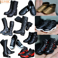 KUMIK 1/6 Scale Women's Sneakers Shoes Boots For 12 inch Action Figure Body Toys
