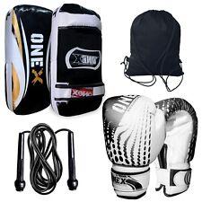 Focus Shield,Kick Pad,Fitness Punching Kick Boxing Gloves Thai Pad Rope+Gym Bag