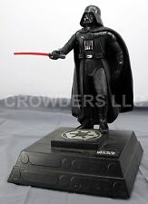 "Star Wars 12"" DARTH VADER w/ Lightsaber Collectible Coin Bank '96 Thinkway Toys"