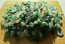 600g Genuine English Seaham Sea Glass Tinies and Chippings