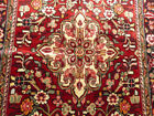 """3'7""""x6'5"""" Fine Hand Knotted wool Authentic Oriental Traditional sarouk area rug"""