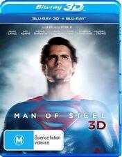 Man Of Steel (Blu-ray, 2013, 3-Disc Set)