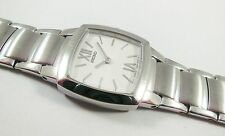 Seiko SFP809 Silver Tone Stainless Steel 7N00-0AM8 Sample Watch NON-WORKING