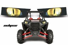 AMR Racing Polaris RZR 1000 UTV Headlight Graphics Eye Sticker Decals ECLIPSE Y