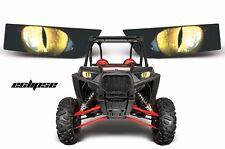 AMR Racing Polaris RZR 1000 UTV Headlight Graphics Eye Sticker Decals ECLIPSE Y