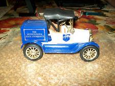 "Ertl #9512 1:25 ""Pennsylvania State University #2"" 1918 Ford Runabout Car Bank"