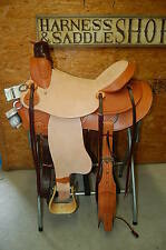 "16"" G.W. CRATE WADE RANCH ROPING SADDLE FREE SHIP ONE OF A KIND USA ALABAMA MADE"
