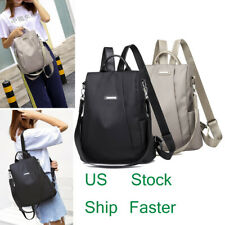 Women Waterproof School Bag Anti-theft Backpack Shoulder Travel Rucksack Oxford