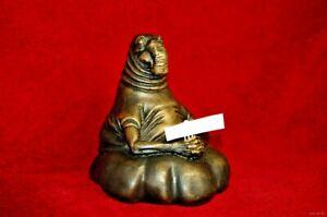 Bronze Homunculus loxodontus piggy bank money box exclusive handmade sculptures