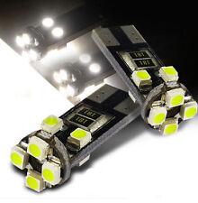 Pop ERROR FREE CANBUS 8 SMD LED XENON HID WHITE W5W T10 501 SIDE LIGHT BULBS E9