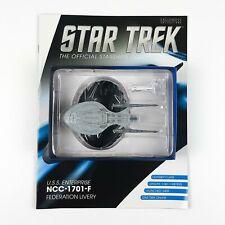 Star Trek Starship Collection USS ENTERPRISE NCC 1701 F Model Bonus Eaglemoss