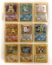 Pokemon Cards Base Set 100% Complete Charizard - Blastoise - Venusaur Holos /102