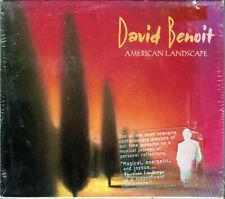 DAVID BENOIT The AMERICAN LANDSCAPE Album CD of PIANO Bela Fleck PONCHO SANCHEZ!