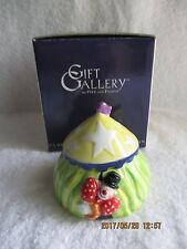 Collectibles Fitz & Floyd Gift Gallery Tent Lidded Box Dog (inside) New in Box