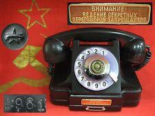 Antique vintage KGB PHONE 1961 BAKELITE made in USSR Soviet Russian
