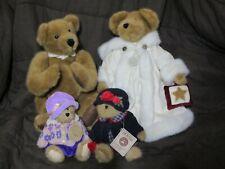 4 Wonderful Boyds Collection Plush Bears Bailey Bailey +