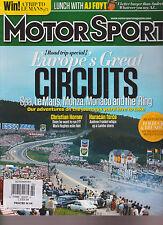 MOTORSPORT UK MAGAZINE FEBRUARY 2015, Europe's Great Circuits Horner