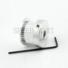 Gt2 Aluminum Timing Belt Pulleys 30t 5mm Bore 11mm Width For Reprap 3d Printer