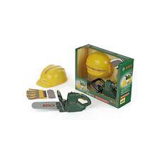 Theo Klein 8435 Bosch Kettensäge + Helm + Handschuhe   NEU OVP*