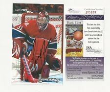 "Carey Price Montreal Canadiens Autographed 3 1/2"" x 5 1/2"" Team Postcard JSA CER"