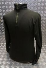 Genuine Dutch Army Norwegian/Norgie Thermal Top/Jumper/Shirt Overdyed Black