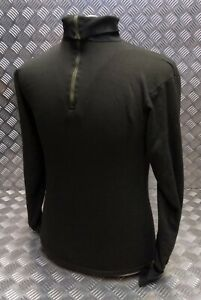 Genuine Dutch Army Norwegian/Norgie Thermal Top/Jumper/Shirt Overdyed - Black