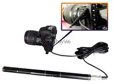PRO Video Shotgun Mic Microphone Camcorder Set For Nikon Canon DSLR Camera DV