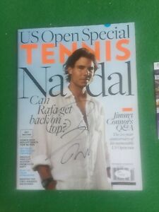 Rafael Nadal Signed US OPEN SPECIAL TENNIS Magazine JSA LOA MINT