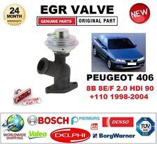 FOR PEUGEOT 406 8B 8E/F 2.0 HDi 90 +110 1998-2004 Pneumatic EGR VALVE SAL/EST