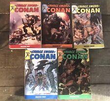 Savage Sword of Conan Tpb Volumes. 1-5, Dark Horse