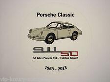 Porsche 911 Classic 50 Jahre 911 Tradition Zukunft Aufkleber Sticker,G-Modell